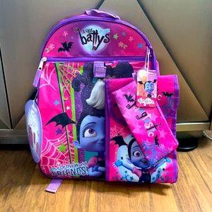 Disney Junior Vampirina 5 piece backpack set